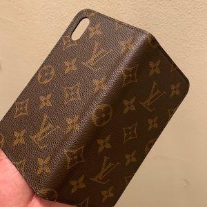 Louis Vuitton iPhone XR Folio Case